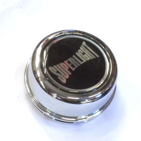 ULTRALITE WHEELS CENTRE CAP SHALLOW TYPE - CHROME / SPML5CCC