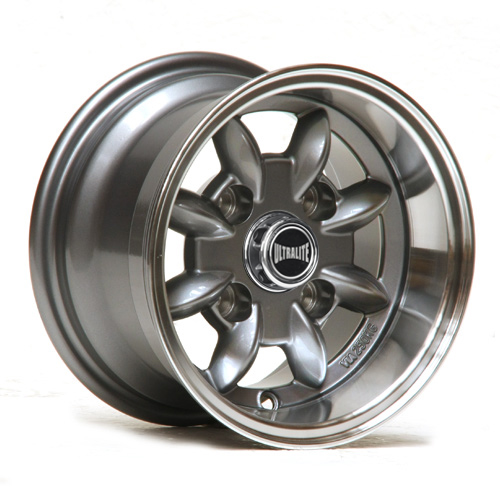 ULTRALITE  CLASSIC MINI - 10 X 6J - ET-3 - GUNMETAL + POLISHED RIM / ULML7-3A